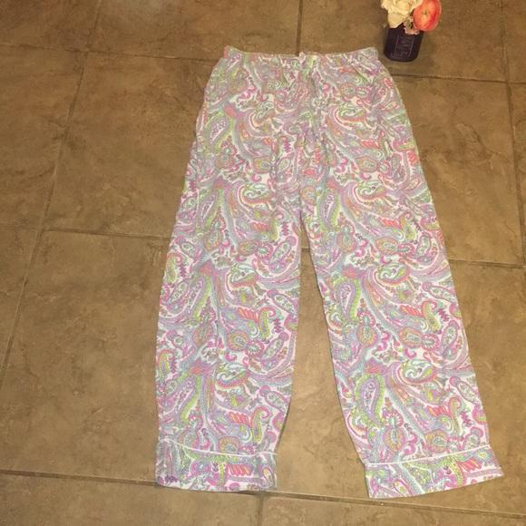 bce37e7cf21f0 Victoria Secret size small paisley pajama pants